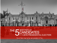 5 most popular candidates of the 2016 presidential election