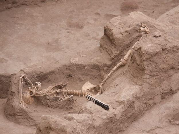 """Archaeology: """"Women in a Temple of Death"""""""