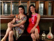 Lizzie and Melanie, the masterminds and distillers of Macchu Pisco