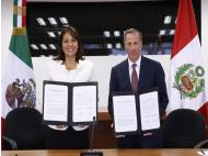 Peru and Mexico sign agreement to combat poverty