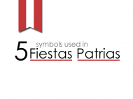 5 symbols for Fiestas Patrias