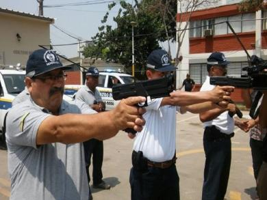 Lima applies to purchase none-lethal weapons