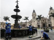 Lima's main fountain to get a makeover