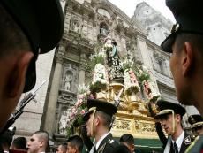 Image of Santa Rosa de Lima will be marched through downtown