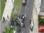 40% of vehicles in Lima suffer an accident