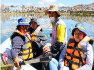 Patarcocha lagoon can be recovered