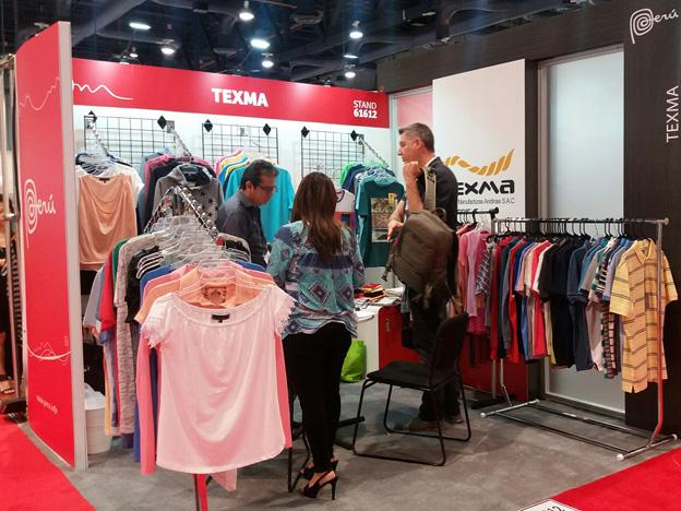 Peruvian textile companies show well in US