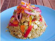 Celebrate Hispanic Heritage Month with Arroz con pollo
