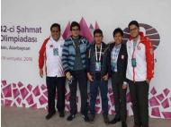 Peru placed 10th in Chess Championship