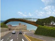 New bridge will join Sand Isidro and Miraflores