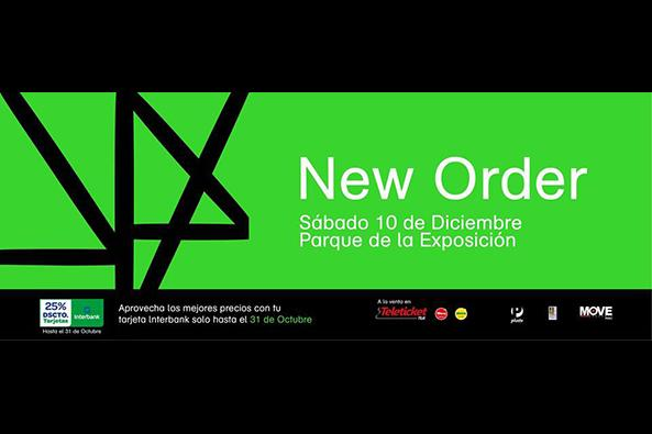 New Order in Lima