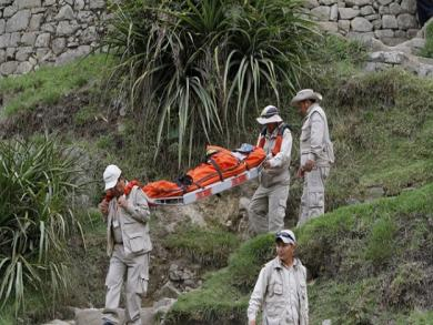 Two visitors injured by lighting in Machu Picchu