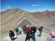 Our hike to the Rainbow Mountain