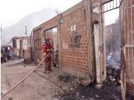 Rimac: 280 houses destroyed by fire