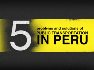 Public transportation in Peru
