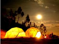 Live a different experience sleeping in these domes in Lima