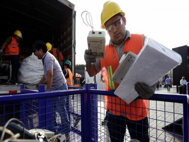 Electric waste recycling campaign a success