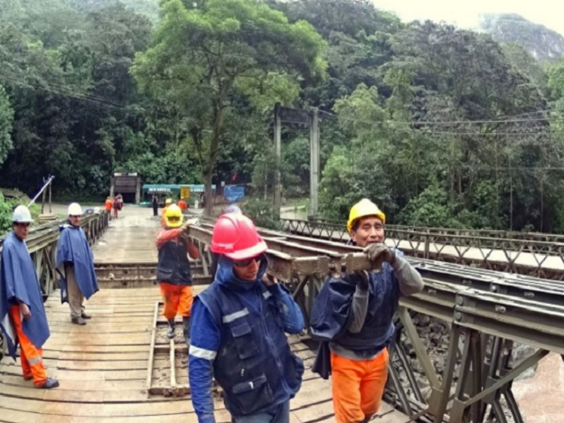 New Machu Picchu bridge construction begins