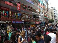 Gamarra: half a million visitors during holidays