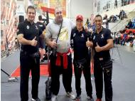 Police officers win lifting championship