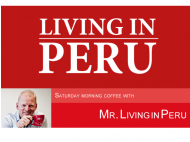 Christmas Eve coffee with Mr. Living in Peru