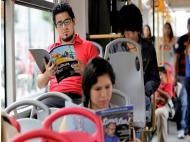 Commuters returning more books
