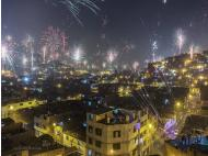 Citizens take precautions during New Year's celebrations