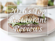 2016's Top Restaurant Reviews