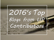 2016's Top Blogs from LIP Contributors