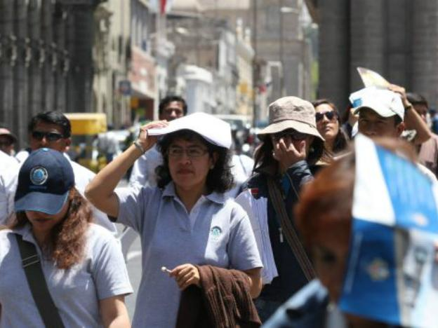 Cruel summer: Peru to have highest radiation levels in world