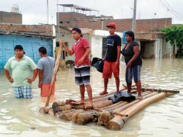 Lambayeque in state of emergency due to extreme weather