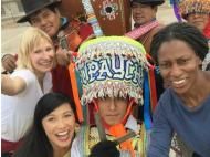 BBC's coverage features Peruvian dance