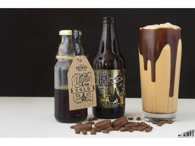 Ice-cold & thick: Coffee Stout Frapp-Brew-Ccino