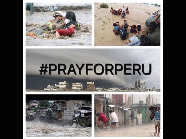 #PrayForPeru: Come together to help the victims