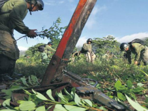 Has Peru managed to decrease its cocaine production?