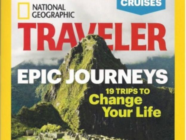 Machu Picchu features on NatGeo cover