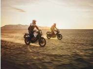 Motorbike campaign in Paracas