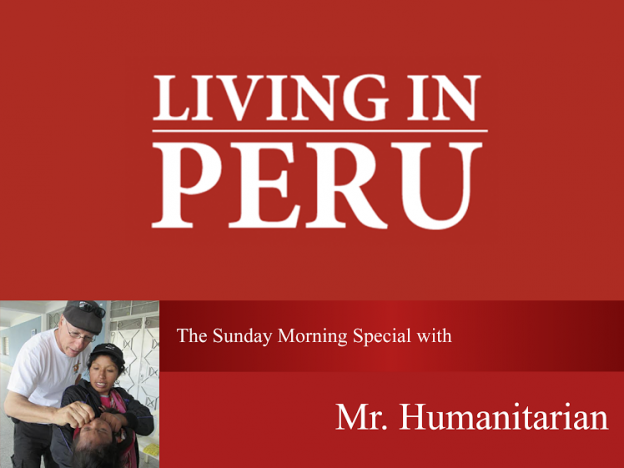 Sunday Morning Special with Mr. Humanitarian
