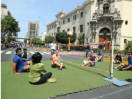 Miraflores: Volleyball for People with a Handicap