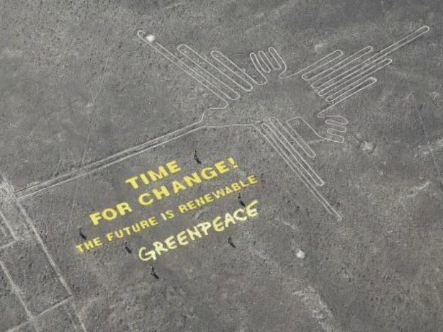Greenpeace Activist who Damaged Nazca Lines Sentenced to 2 Years of Prison