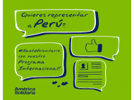 International Volunteer Program for Peruvian Professionals