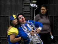Clowning Around Downtown in Historic Central Lima (PHOTOS)