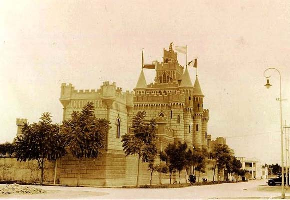 The Castillo Rospigliosi shortly after its construction (Public domain)